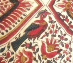 Rosemaine-Indiennes Sublimes-détail