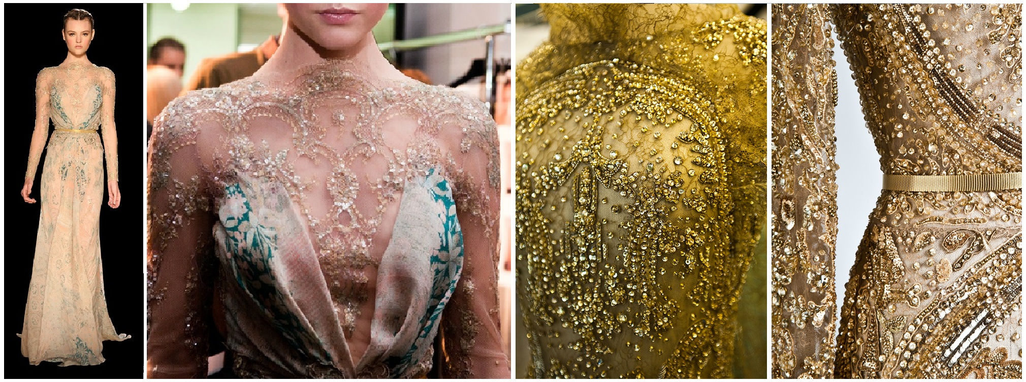 broderies somptueuses elie saab haute couture automne