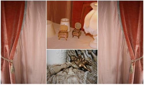 L'esprit boudoir au stand PerleQuiRoule, rencontre patchwork, Sorgues, 7 février 2013