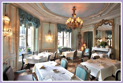 Laduree Champs Elysee, salon Castglione
