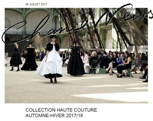 décor du défilé Chanel Haute-Couture Automne-Hiver 2017/18