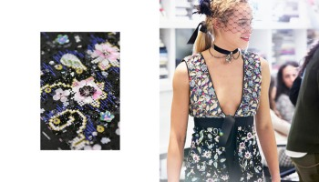 broderie Chanel les fleurs du Ritz