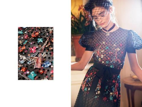 broderie Chanel Metiers d'art 2016-2017