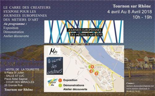 JEMA2018 carre des createurs à Tournon-sur-Rhône