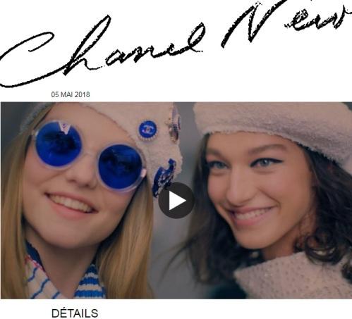 Chanel Croisière 2018/19, détails