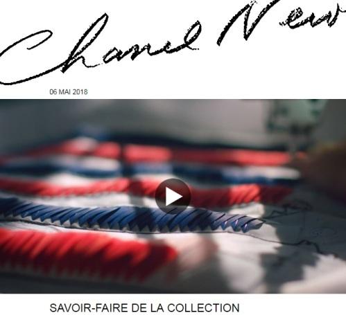 Chanel Croisière, le savoir-faire