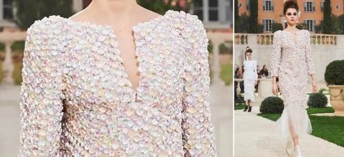 HC PE Chanel 2019 robe fleurs