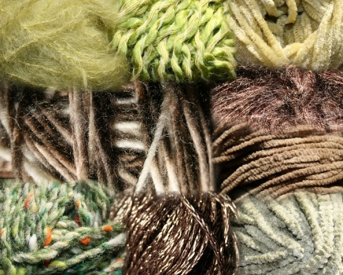 nouveauxfils verts et marrons