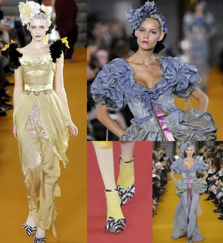 Christian Lacroix : plumes, strass, noeuds