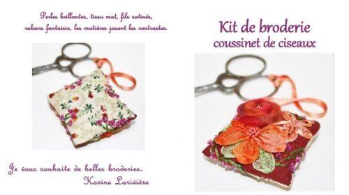 Kit coussinet de ciseaux