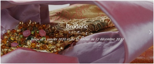 Expo Broderies Musée d'Albi