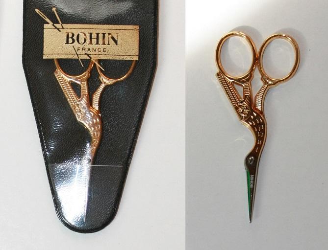 Ciseaux Bohin Cigogne 10cm