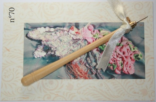 Crochet de Lunéville n°70 Bois clair