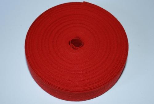 Tirettes pour métier à broder 2x5m Rouge coquelicot