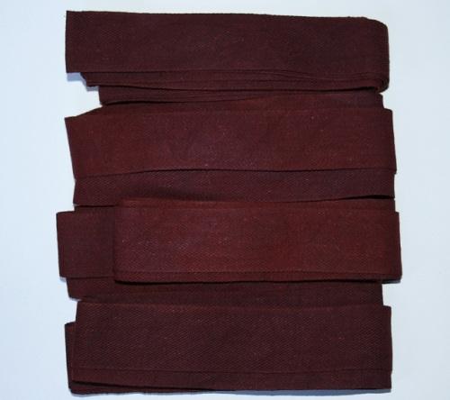 Tirettes pour métier à broder 4x2m40 9m60 Prune teint à la main