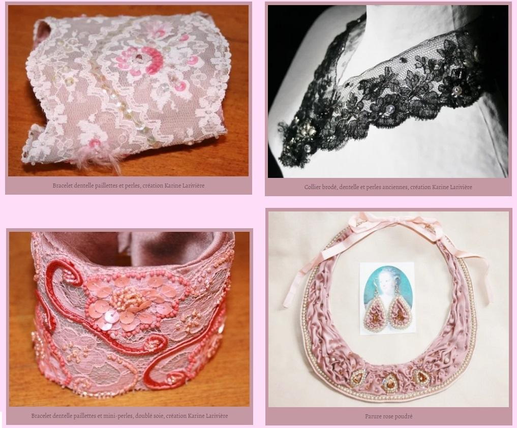 Métiers d'art : bijoux brodés