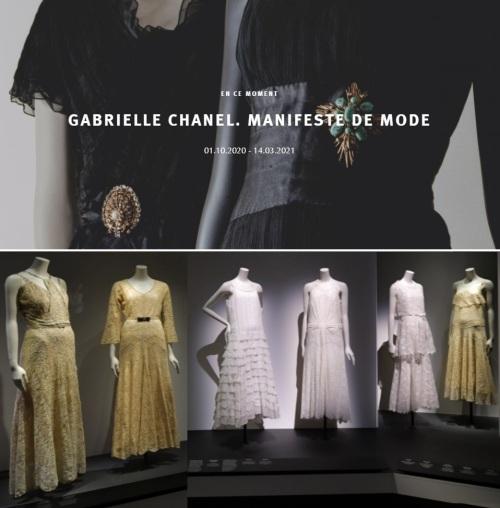 2020-2021-Palais Galliera-Gabrielle Chanel-dates et robes du soir