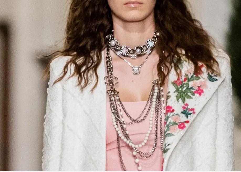 Chanel Métiers d'Art 2020-2021 - Broderie veste
